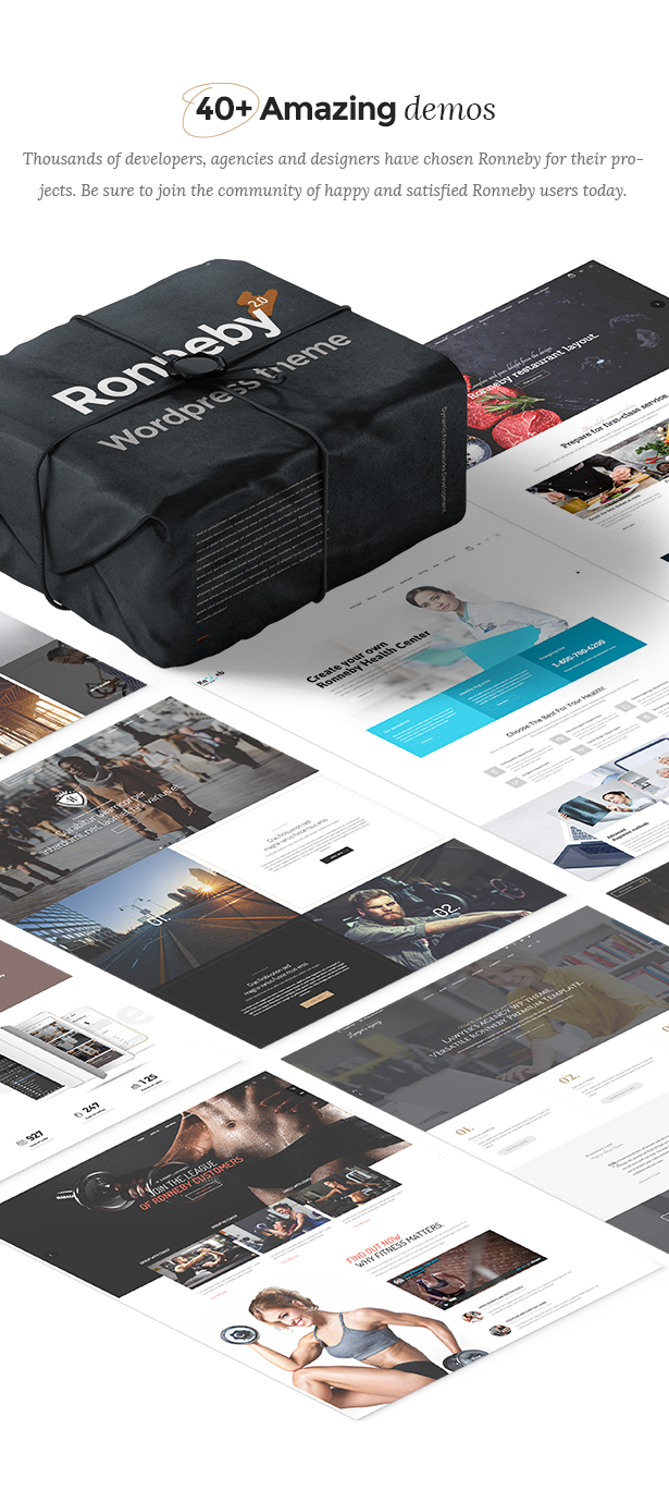- demos new - Ronneby – High-Performance WordPress Theme