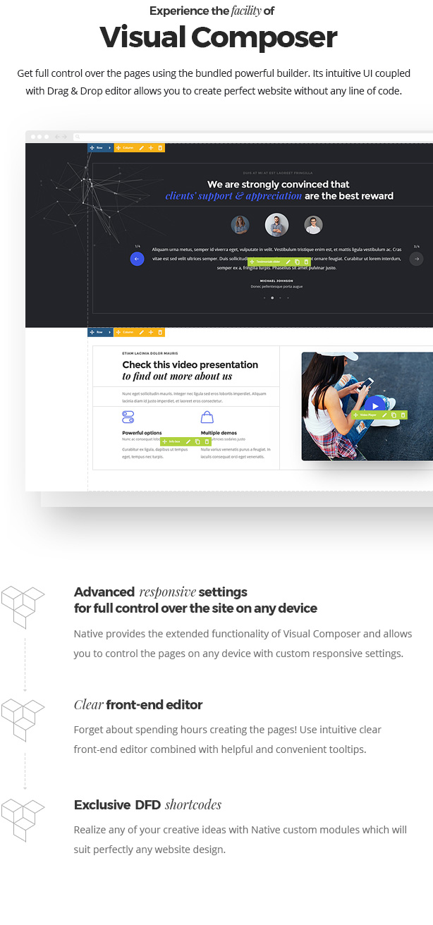 Native - Stylish Multi-Purpose Creative WP Theme - 9